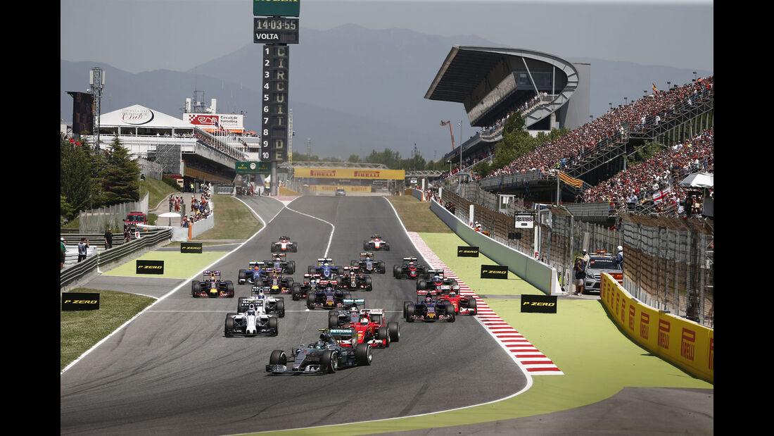 Formel 1 - GP Spanien 2015