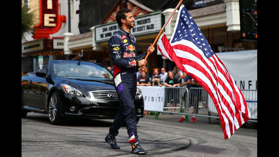 Formel 1 GP USA 2014 - Red Bull - Showrun - 29. Oktober 2014