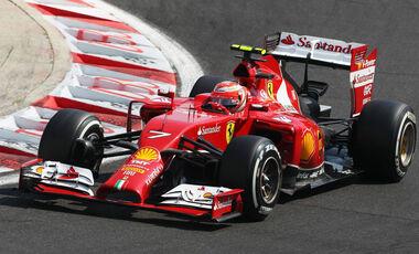 Formel 1 GP Ungarn 2014 Kimi Räikönen