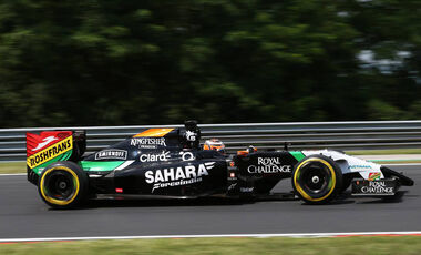 Formel 1 GP Ungarn Nico Hülkenberg 2014