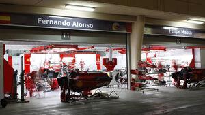 Formel 1-Garage