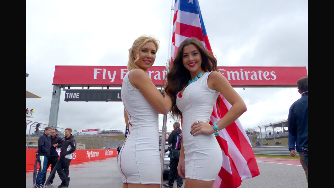 Formel 1-Girls - Austin - GP USA 2015