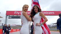 Formel 1-Girls - Austin - GP USA 2015