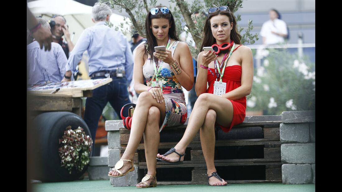 Formel 1-Girls Budapest - 2015