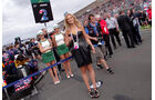 Formel 1-Girls - GP Australien 2013