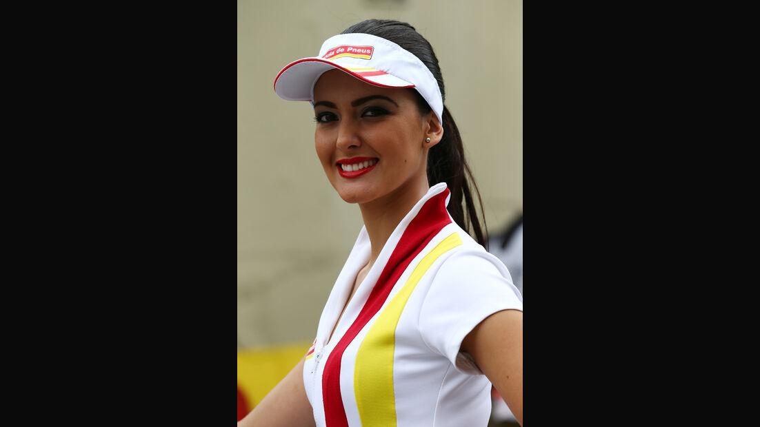 Formel 1-Girls - GP Brasilien - 2013