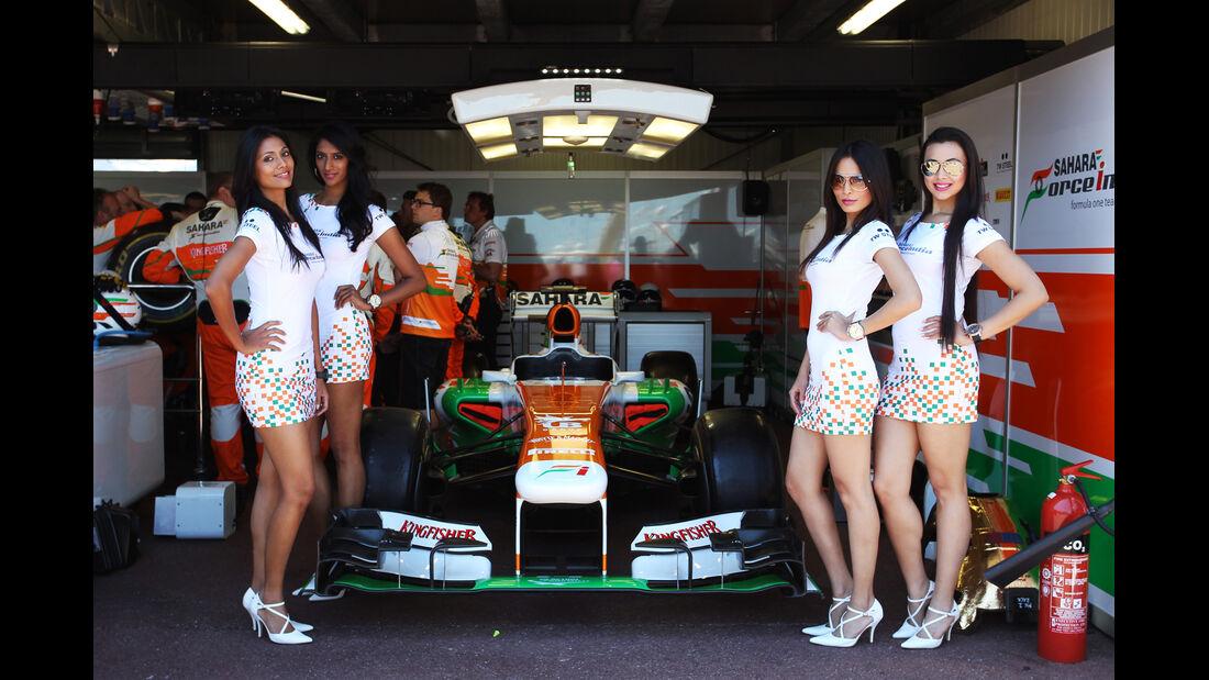 Formel 1-Girls - GP Monaco 2013
