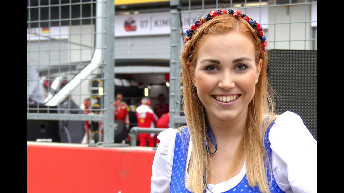 Formel 1-Girls - GP Österreich 2016