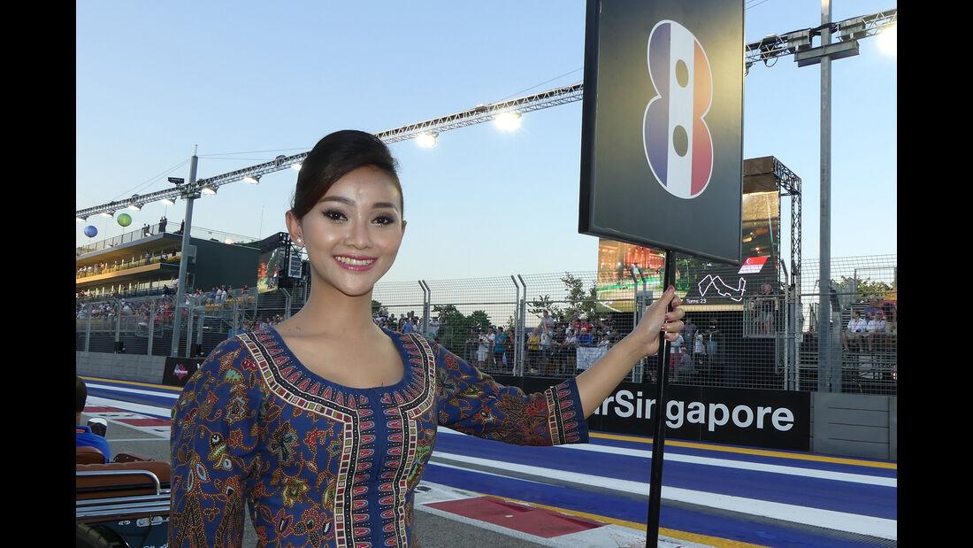 Formel 1-Girls - GP Singapur 2016