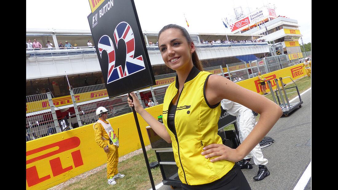 Formel 1 - Girls - GP Spanien 2014 - Barcelona