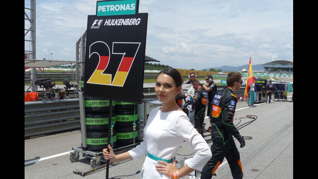 Formel 1-Girls - Sepang - GP Malaysia 2015