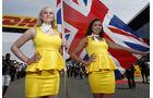 Formel 1-Girls Silverstone - 2015