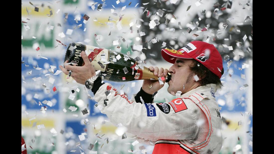 Formel 1, Grand Prix Brasilien 2007, Interlagos, 21.10.2007