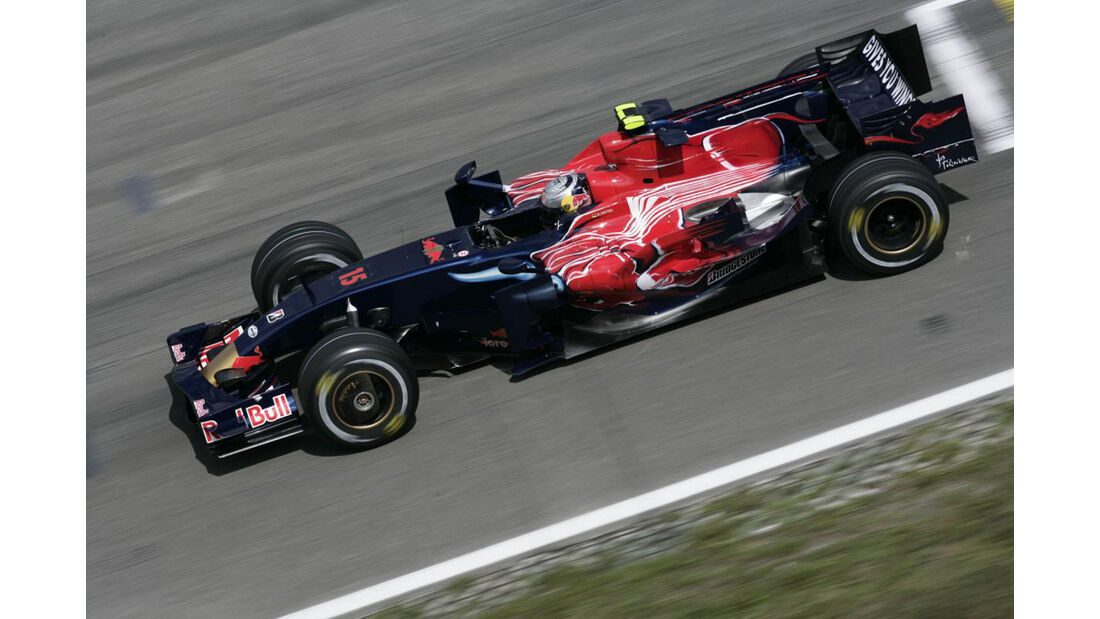 Formel 1, Grand Prix Deutschland 2008, Hockenheimring, 20.07.2008