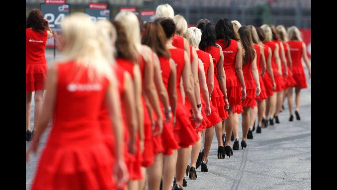 Formel 1 Grid Girls