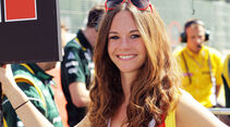 Formel 1 Grid Girls GP Belgien 2012