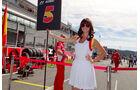 Formel 1 Grid Girls GP Belgien 2012