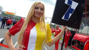 Formel 1 - Grid Girls - GP Belgien 2014