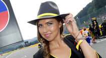 Formel 1 - Grid Girls - GP Belgien - Spa-Francorchamps - 2017