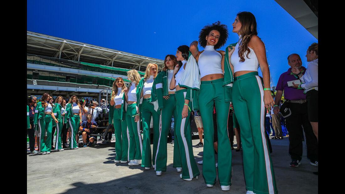 Formel 1 - Grid Girls - GP Brasilien 2017