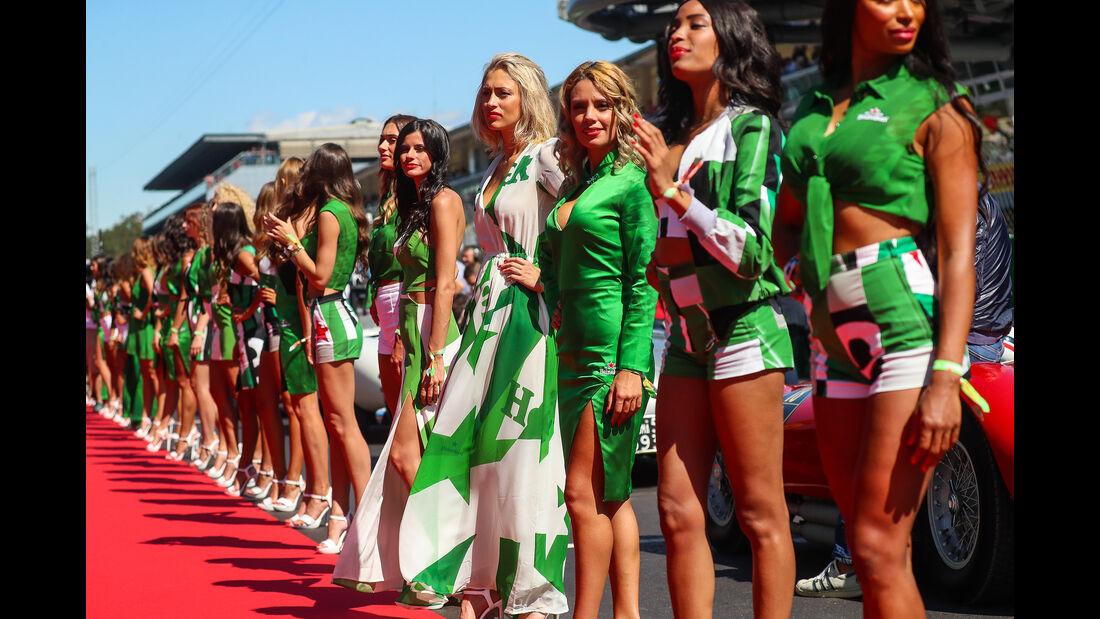 Formel 1 - Grid Girls - GP Italien - Monza - 2017