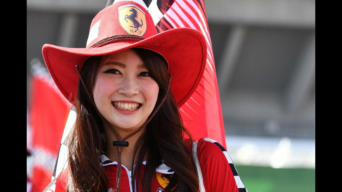 Formel 1 - Grid Girls - GP Japan 2017