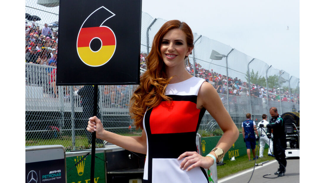 Formel 1 - Grid Girls - GP Kanada 2015