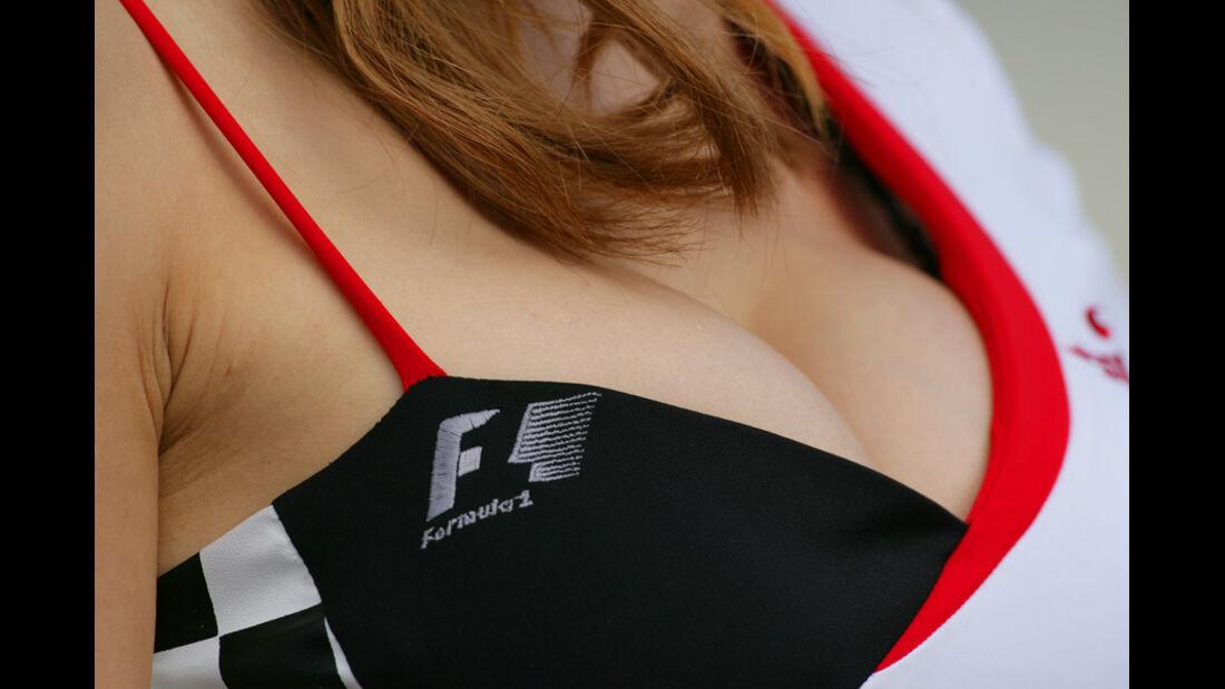 Formel 1 Grid Girls - GP Korea 2011