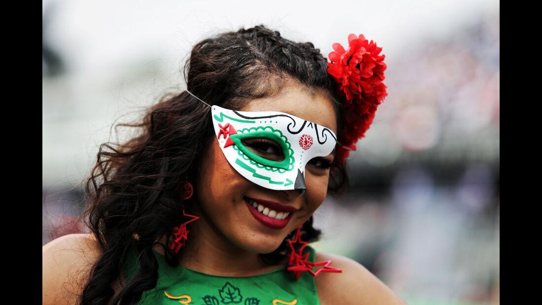 Formel 1 - Grid Girls - GP Mexiko 2017
