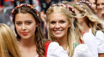 Formel 1 - Grid Girls - GP Österreich 2017