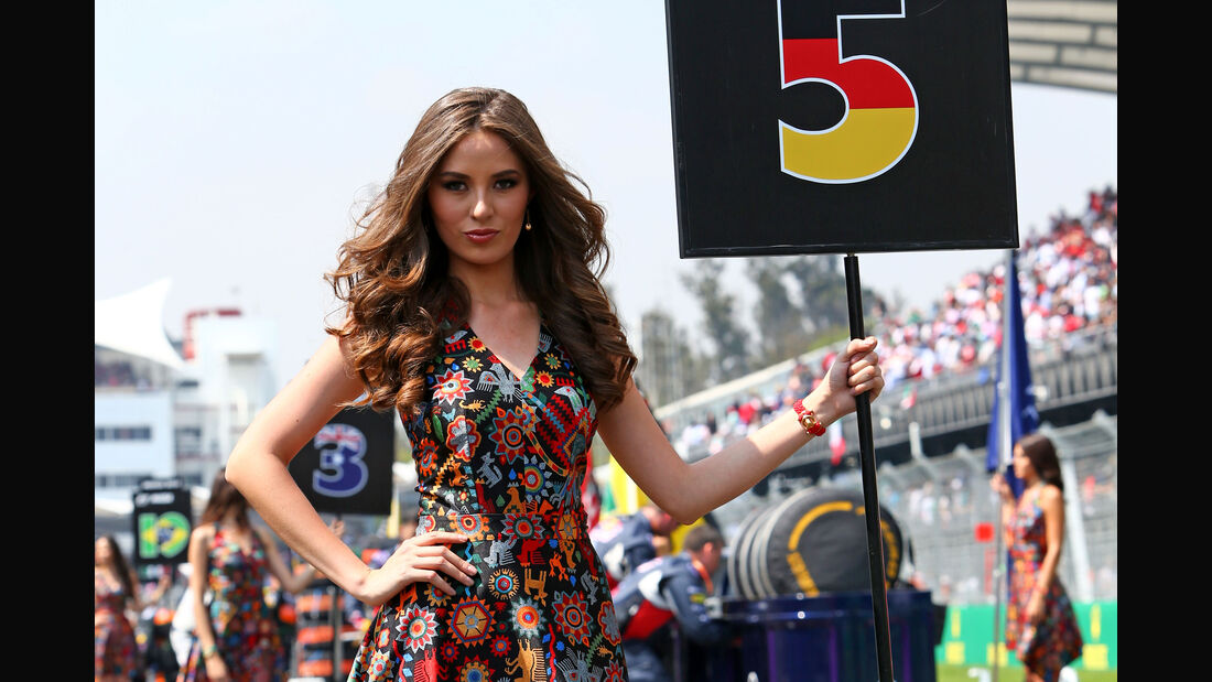 Formel 1 Grid Girls - Gran Prix von Mexiko 2015