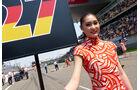 Formel 1 - Grid Girls - Grand Prix von China 2015