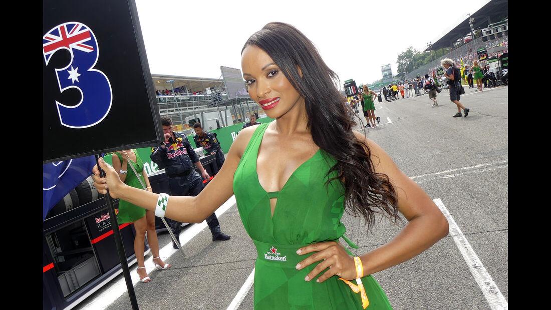 Formel 1 Grid Girls - Monza - GP Italien 2016