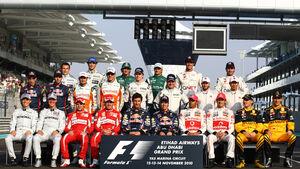 Formel 1-Gruppenfoto 2010