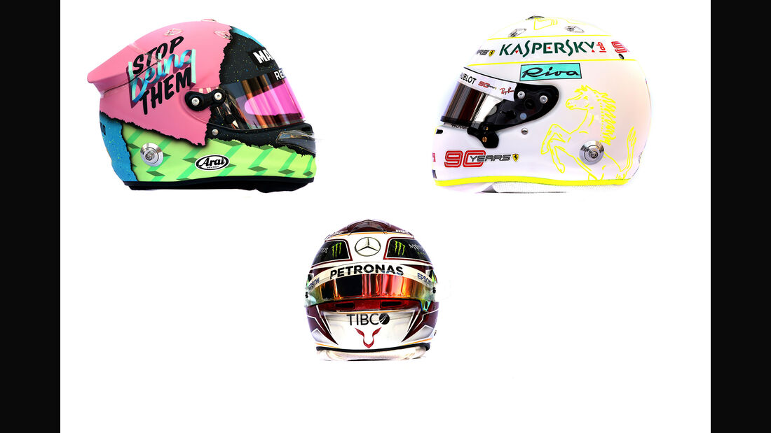 Formel 1 - Helme 2019