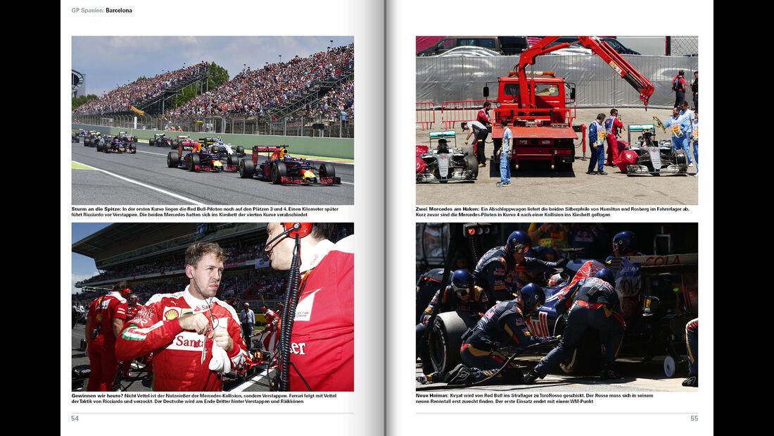 Formel 1 - Jahrbuch 2016 - M. Schmidt