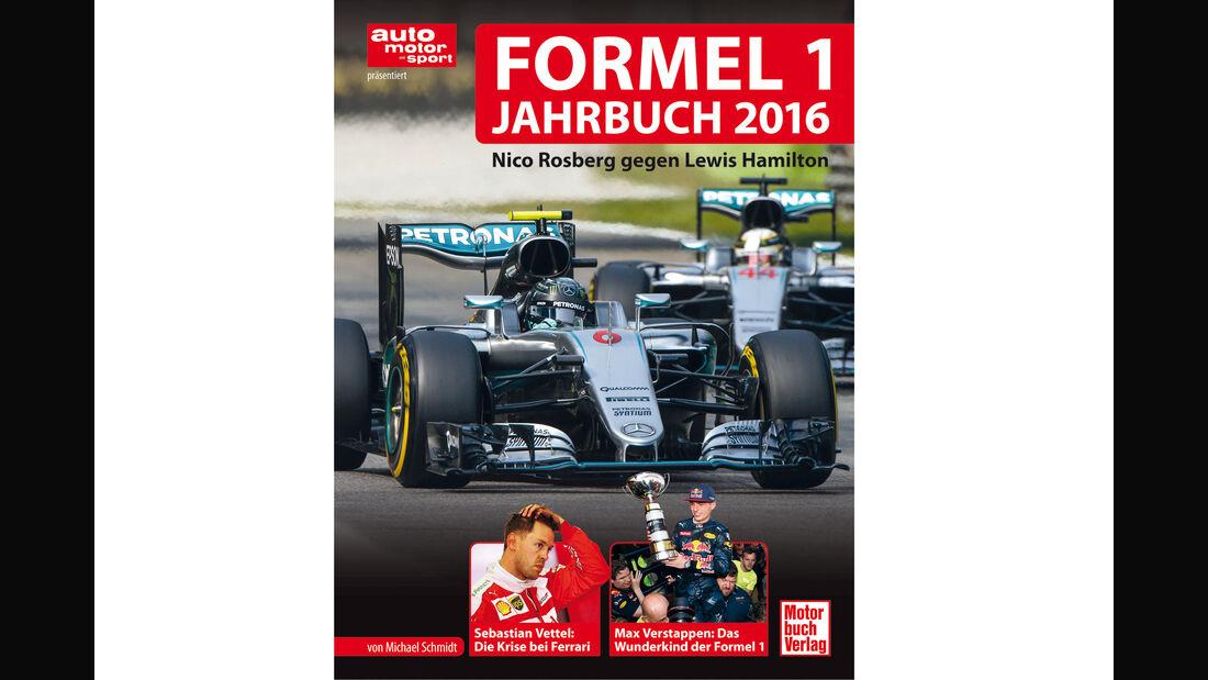 Formel 1 - Jahrbuch 2016 - M. Schmidt - Cover