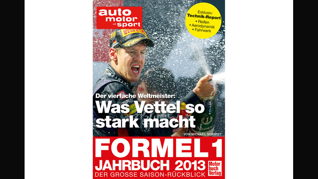 Formel 1 Jahrbuch Saisonrückblick 2013 Titel, Michael Schmidt
