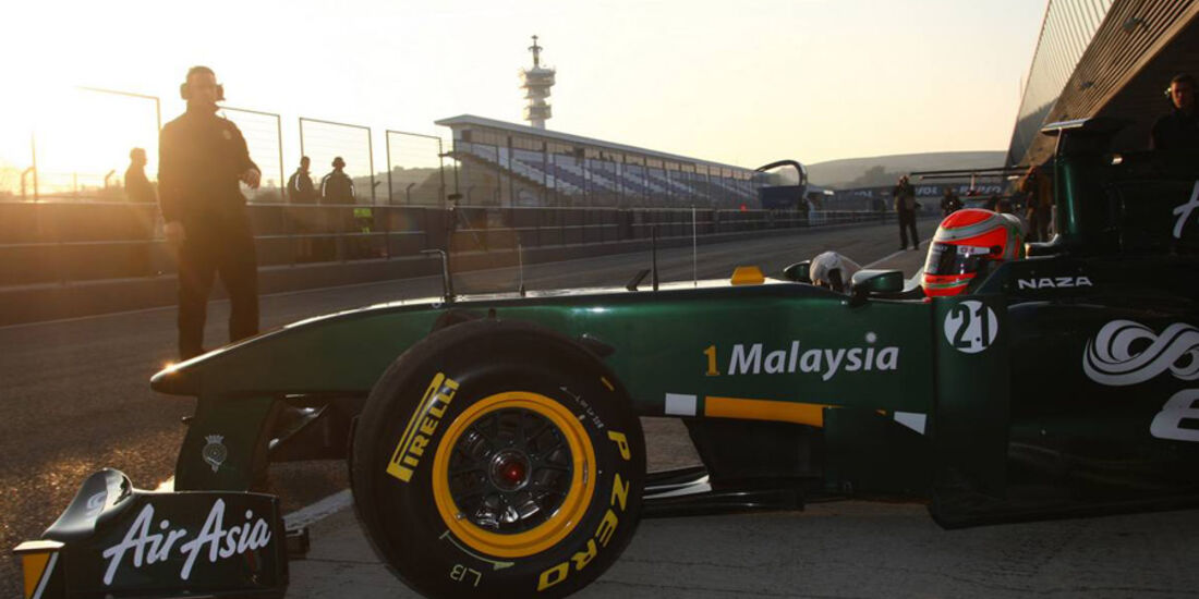 Formel 1-Jerez Test 2011