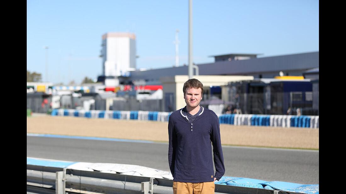 Formel 1, Jerez, Tests
