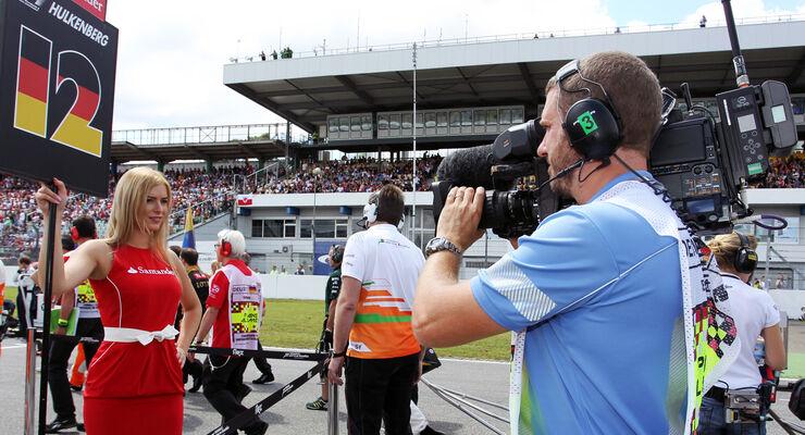 Formel 1 Kameramann