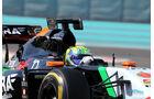 Formel 1 LED-Anzeige - F1 Test Abu Dhabi - 2014