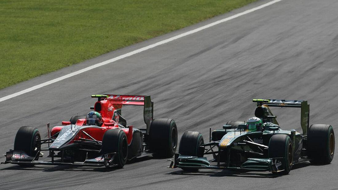 Formel 1 Lotus Virgin