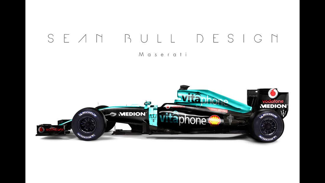 Formel 1 - Maserati - Fantasie-Teams - Sean Bull Design