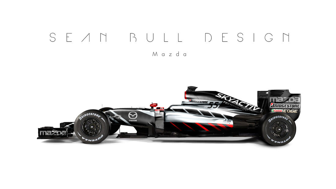 Formel 1 - Mazda - Fantasie-Teams - Sean Bull Design