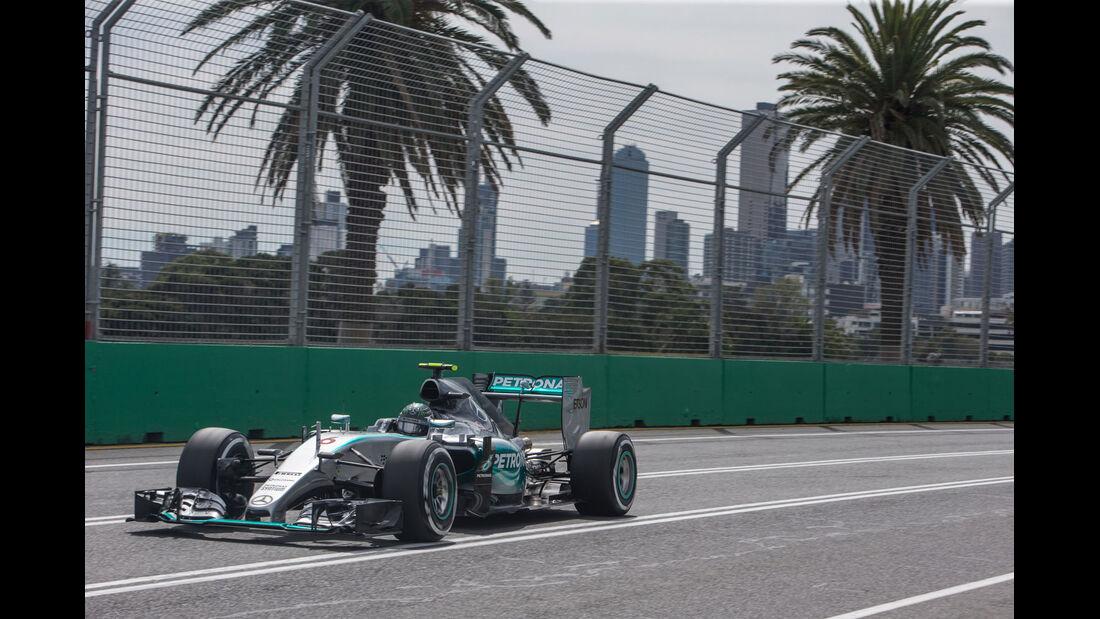Formel 1 - Mercedes F1 W06 - V6-Turbo