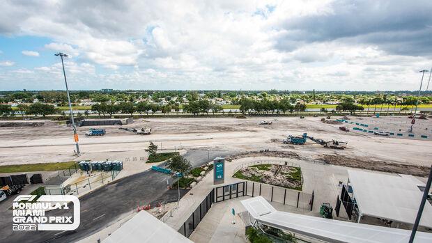 Formel 1 - Miami - Baustelle - 2021