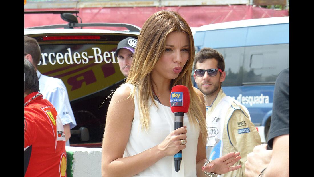 Formel 1 - Moderatorin - GP Spanien 2014 - Barcelona