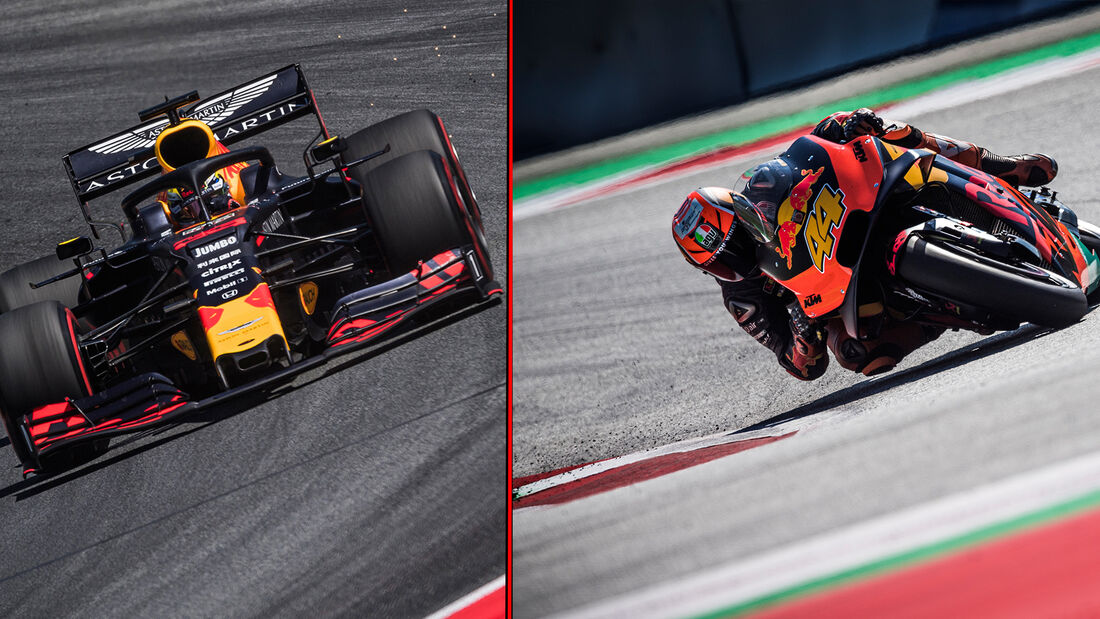 Formel 1 - MotoGP - Vergleich