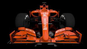 Formel 1 - Nasen Studie 2014